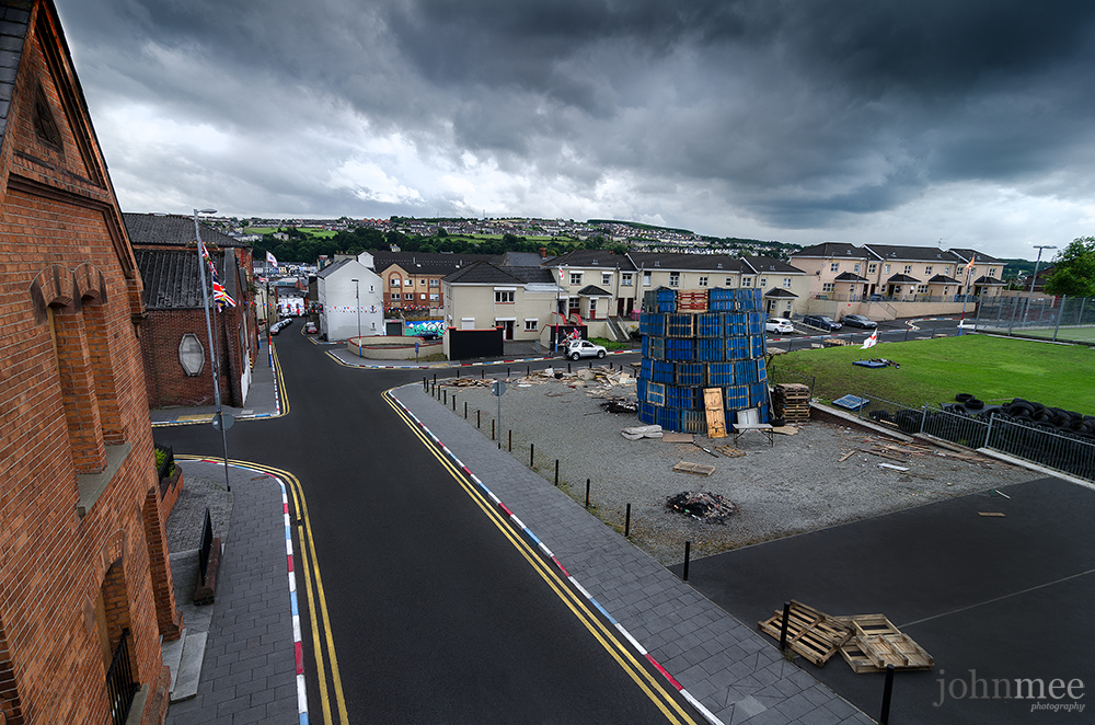 Derry city Fountain estate