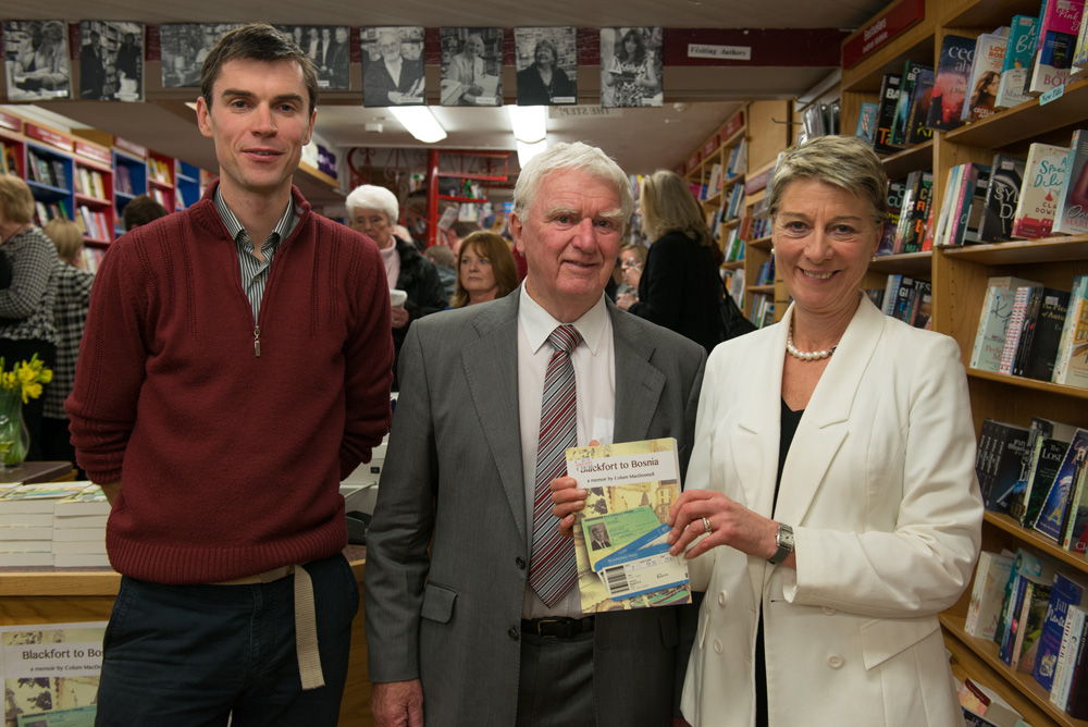 Colum MacDonnell book launch
