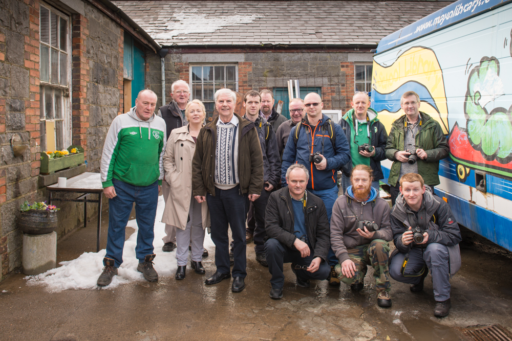 GMIT students and Castlebar Mens Shed members