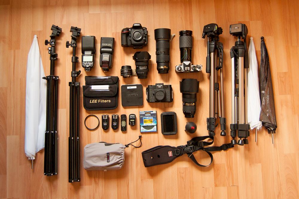 My photographic kit